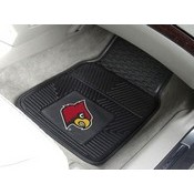 Louisville Heavy Duty 2-Piece Vinyl Car Mats 17x27