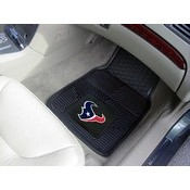 NFL - Houston Texans Heavy Duty 2-Piece Vinyl Car Mats 17x27