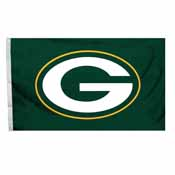Green Bay Packers 4 Ft. X 6 Ft. Flag W/Grommetts