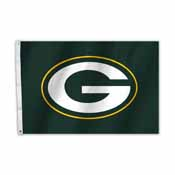 Green Bay Packers 2 Ft. X 3 Ft. Flag W/Grommetts