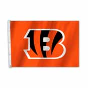 Cincinnati Bengals 2 Ft. X 3 Ft. Flag W/Grommetts