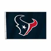 Houston Texans 2 Ft. X 3 Ft. Flag W/Grommetts