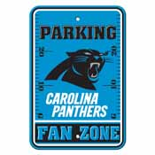 Carolina Panthers Plastic Parking Sign - Fan Zone