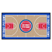 NBA - Detroit Pistons Large Court Runner 29.5x54