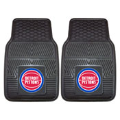 NBA - Detroit Pistons 2-pc Vinyl Car Mats 17x27