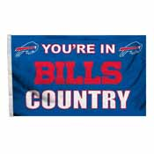 Buffalo Bills 3 Ft. X 5 Ft. Flag W/Grommetts
