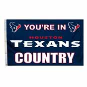 Houston Texans 3 Ft. X 5 Ft. Flag W/Grommetts