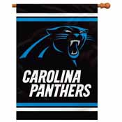 Carolina Panthers 2-Sided 28 X 40 House Banner