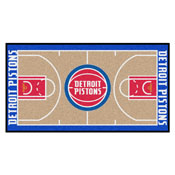 NBA - Detroit Pistons NBA Court Runner 24x44