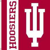 Indiana Hoosiers 3 Ft. X 5 Ft. Flag W/Grommets