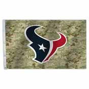 Houston Texans 3 Ft. X 5 Ft. Flag W/Grommetts - Camo Design