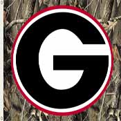 Georgia Bulldogs 3 Ft. X 5 Ft. Flag W/Grommets - Realtree Camo Background