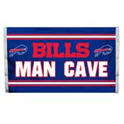Buffalo Bills Man Cave 3 x 5 Flag w/ 4 Grommets