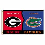 Georgia - Florida 3 Ft. X 5 Ft. Flag W/Grommets - Rivalry House Divided