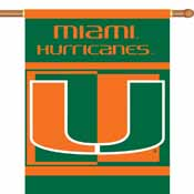 Miami Hurricanes 2-Sided 28