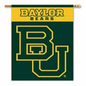 Baylor Bears 2-Sided 28 Inch x 40 Inch Banner W/ Pole Sleeve