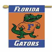 Florida Gators 2-Sided 28 Inch x 40 Inch Banner W/ Pole Sleeve