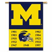 Michigan Wolverines 2-Sided 28