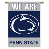 Penn State Nittany Lions 2-Sided 28 Inch x 40 Inch Banner W/ Pole Sleeve
