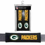 Green Bay Packers Seat Belt Pad 2 Pack
