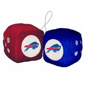 Buffalo Bills Fuzzy Dice