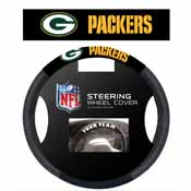 Green Bay Packers Poly-Suede Steering Wheel Cover