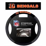 Cincinnati Bengals Poly-Suede Steering Wheel Cover