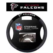 Atlanta Falcons Poly-Suede Steering Wheel Cover