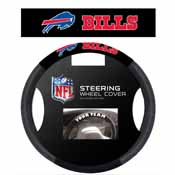 Buffalo Bills Poly-Suede Steering Wheel Cover