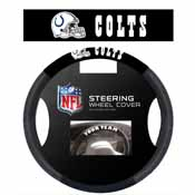 Indianapolis Colts Poly-Suede Steering Wheel Cover