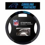 Carolina Panthers Poly-Suede Steering Wheel Cover