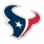 Houston Texans Vinyl Magnet