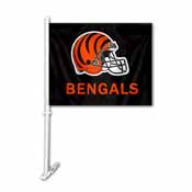 Cincinnati Bengals Car Flag