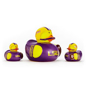 LSU Tigers 3-Pack All Star Ducks