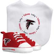 Bib & Prewalker Gift Set - Atlanta Falcons