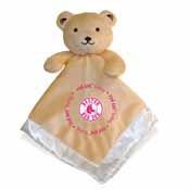 Security Bear - Pink Logo - Boston Red Sox