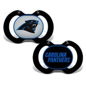 Gen. 3000 Pacifier 2-Pack - Carolina Panthers