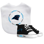 Bib & Prewalker Gift Set - Carolina Panthers