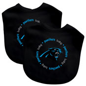Bibs (2 Pack) - Carolina Panthers