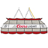 Coors Light Handmade Stained Glass Lamp - 40 Inch