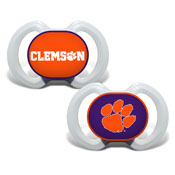 Gen. 3000 Pacifier 2-Pack - Clemson University