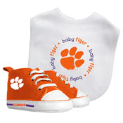 Bib & Prewalker Gift Set - Clemson University