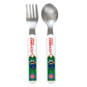Fork & Spoon Set - Chicago Cubs