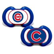 Gen. 3000 Pacifier 2-Pack - Chicago Cubs