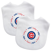 Bibs (2 Pack) - Chicago Cubs