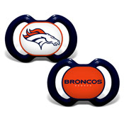 Gen. 3000 Pacifier 2-Pack - Denver Broncos