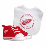 Bib & Prewalker Gift Set - Detroit Red Wings