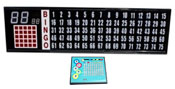 Flashboard-Deluxe With 3.25 Inch Numbers