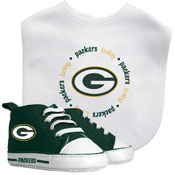 Bib & Prewalker Gift Set - Green Bay Packers