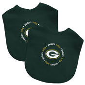 Bibs (2 Pack) - Green Bay Packers